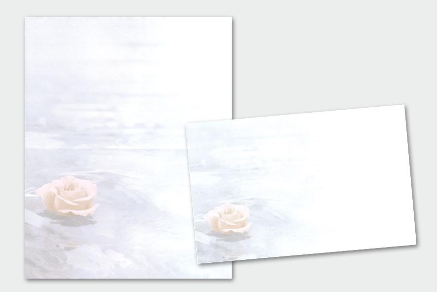 Schwimmende Rose